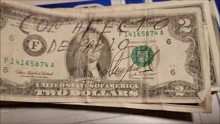 $2 Bill Searching for Rare Notes and Fancy Serial Numbers