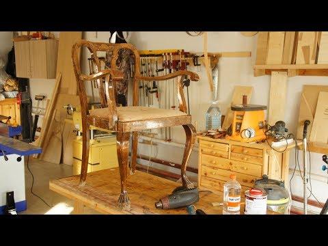 Реставрация мебели видеоуроки