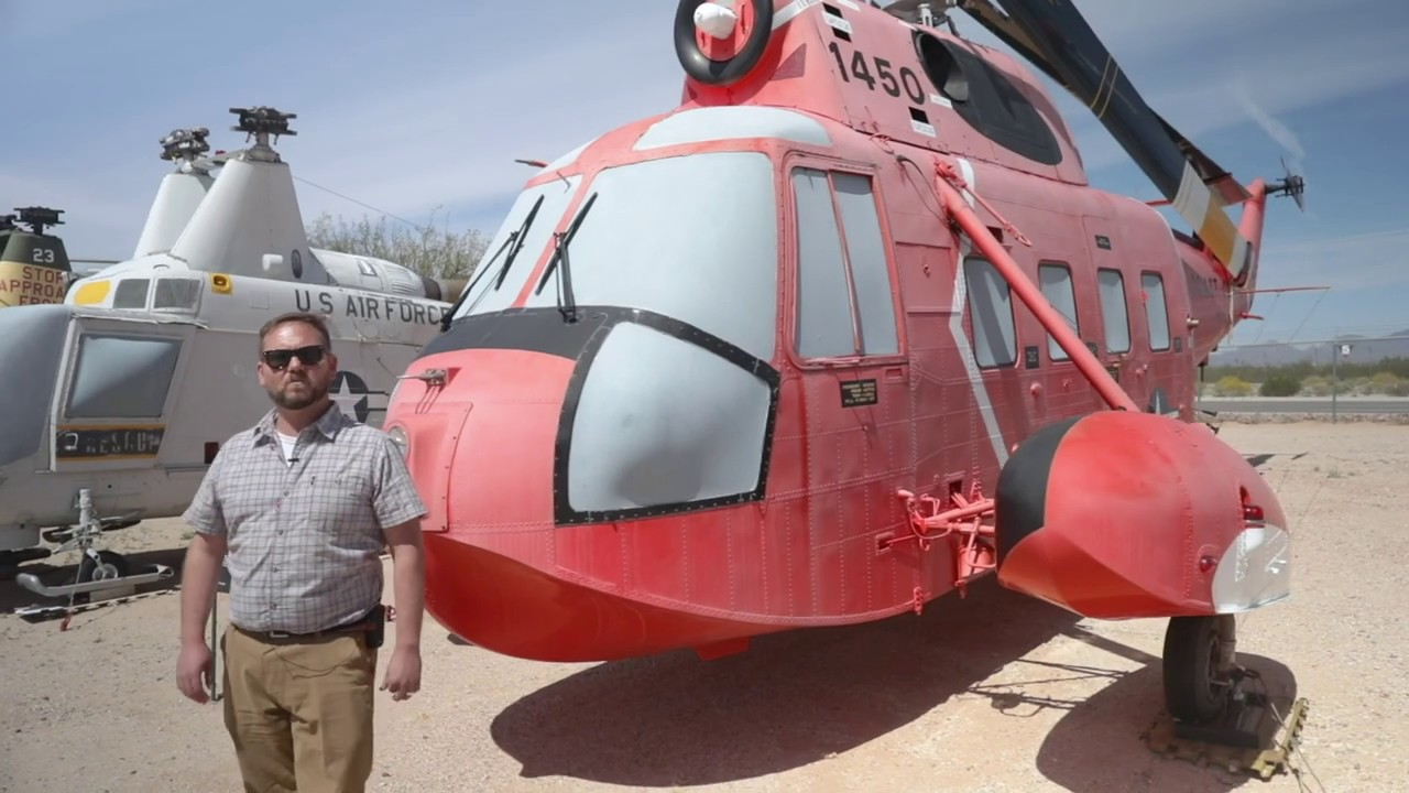 Learn about the Coast Guard SAR Helicopters at Pima Air and Space Museum