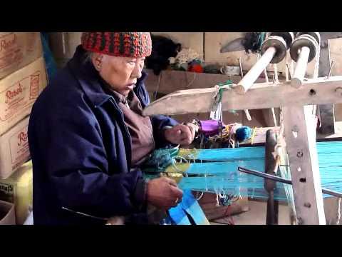 Tibetan artisan in Darjeeling, India