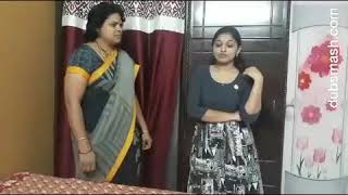 Pavan lady fan's sridevi Akka &Lahari Asta-chemma scene sawathi voice dubbing.