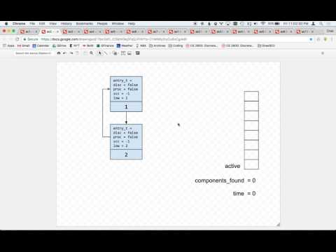 Strongly Connected Components -  A Walkthrough