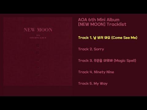 Download 전곡 듣기/Full Album AOA 6th Mini Album NEW MOON Mp4 baru