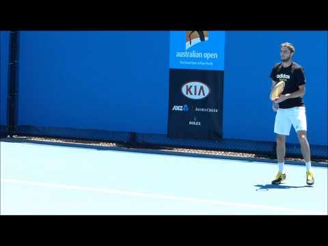 Gilles Simon Practice 2013