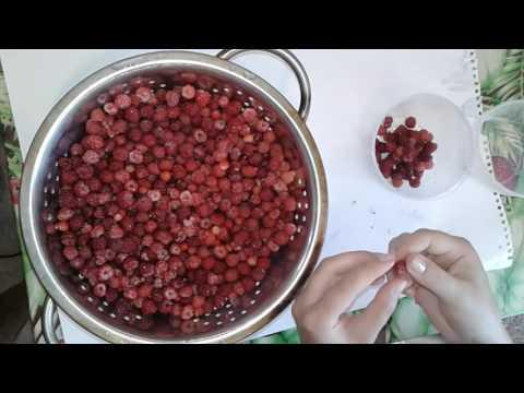 Как помыть малину