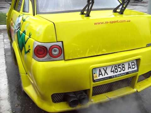 2110 NFS BORMAN (бампер, багажник фары) Жека