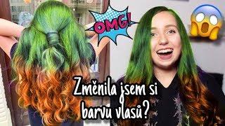 Změnila jsem si barvu vlasů/ jsem na zeleno? Moje nové vlasy