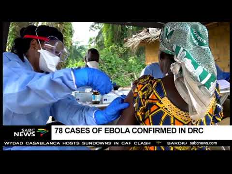 78 Cases Of Ebola Confirmed In The DRC