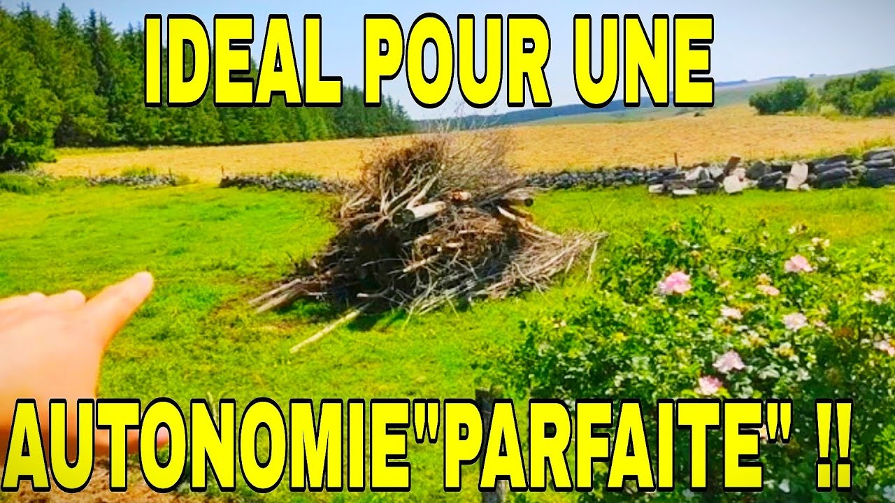 """""""AUTONOMIE""""LE TERRAIN IDEAL !!😲👍"""