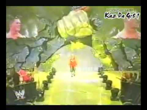 John Cena's 1st Word Life Ring Entrance