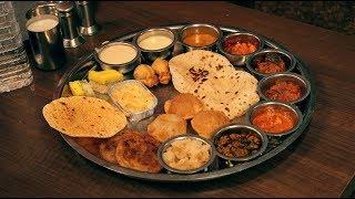 Best Gujarati Thali in Ahmedabad, Gujarat, India | Nikunj Vasoya | Indian Restaurant Review