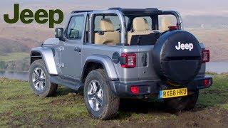 2019 Jeep Wrangler Sahara | Billet Silver | Exterior, Interior (UK Spec)