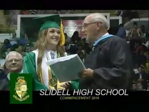 Slidell High School Graduation 2016