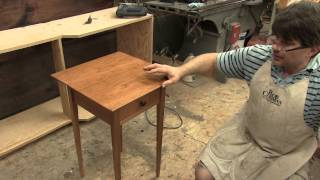 Rob Cosman's online hand tool workshop project #4, Cherry table