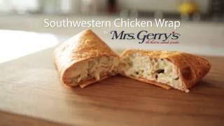 Mrs. Gerrys Southwestern Chicken Wrap