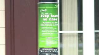 HVAC Nu-Calgon no-rinse coil cleaners