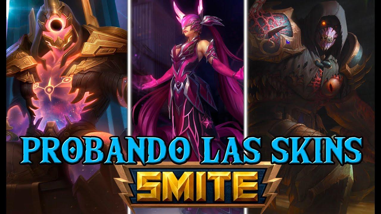 SMITE | PROBANDO LAS SKINS DEL PATCH 7.6