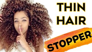 How To Regrow Thinning Hair For Women | 1 EASY Hack That Give Results!