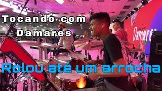 Daniel Pinheiro - com Damares (Drum cam) Compilado 😎