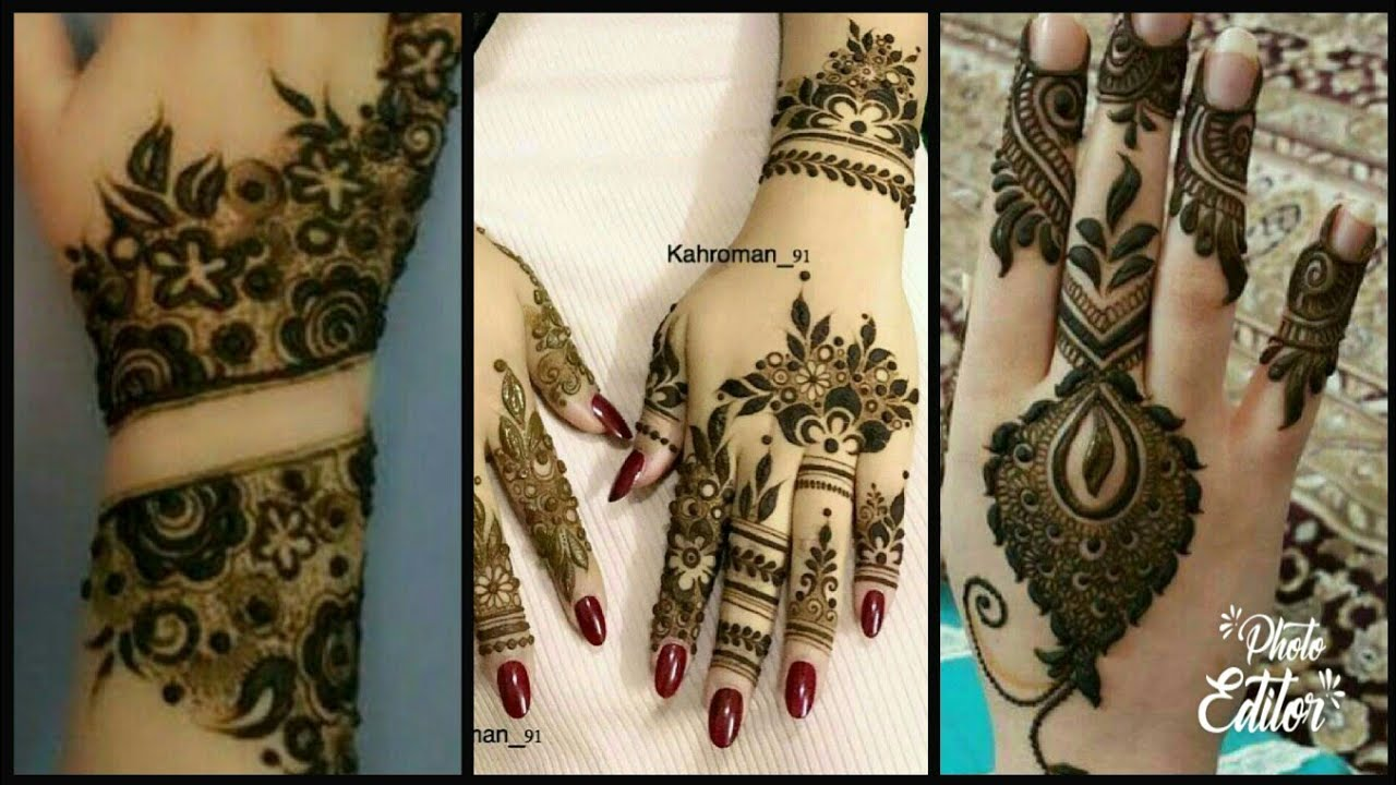 Dubai Arabic Mehndi Henna Design: New Gulf /Dubai Style Mehndi Designs/Latest Arabic Mehndi