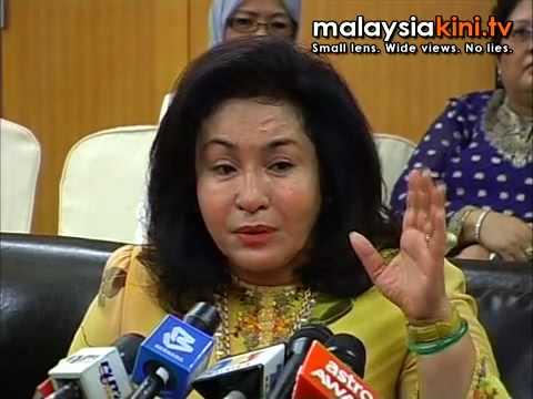 Rosmah has no time for lies, gossip