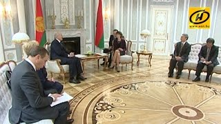 Lukashenka jahon Banki Belarus respublikasida yo'l qurilishi moliyalashtirish kengaytirish uchun taklif