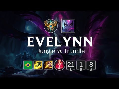 Evelynn Jungle vs Trundle - BR Challenger Patch 8.11