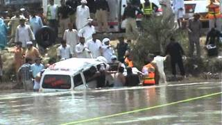 Carry cab recovered from BRB canal in Daska by Ulfat Bukhari 6 6 11