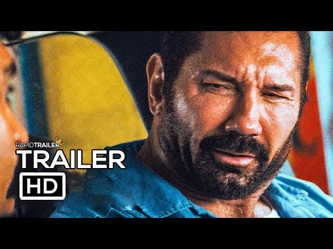 STUBER Official Trailer (2019) Dave Bautista, Comedy Movie HD