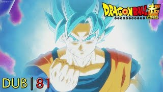 Goku Ssj Blue Kaioken Transformation (English Dub) | DBS Ep. 81