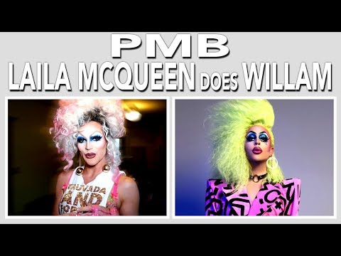 PMB w/ Laila McQueen & Willam (feat. The AAA Girls) CENSORED
