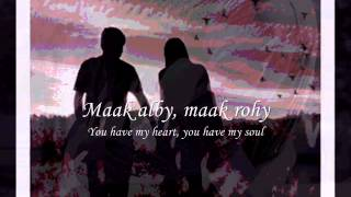 TAMALLY MAAK (Always With Me) BUDDHA BAR - Amr Diab & Cheb Khaled .wmv (With Lirycs & Translation)