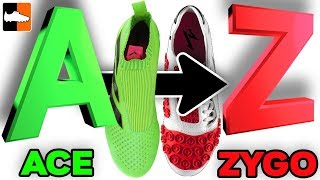 A to Z of Football Boots ⚽ ABC of Soccer Cleats!