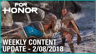 For Honor: Week 2/08/2018 | Weekly Content Update | Ubisoft [NA]
