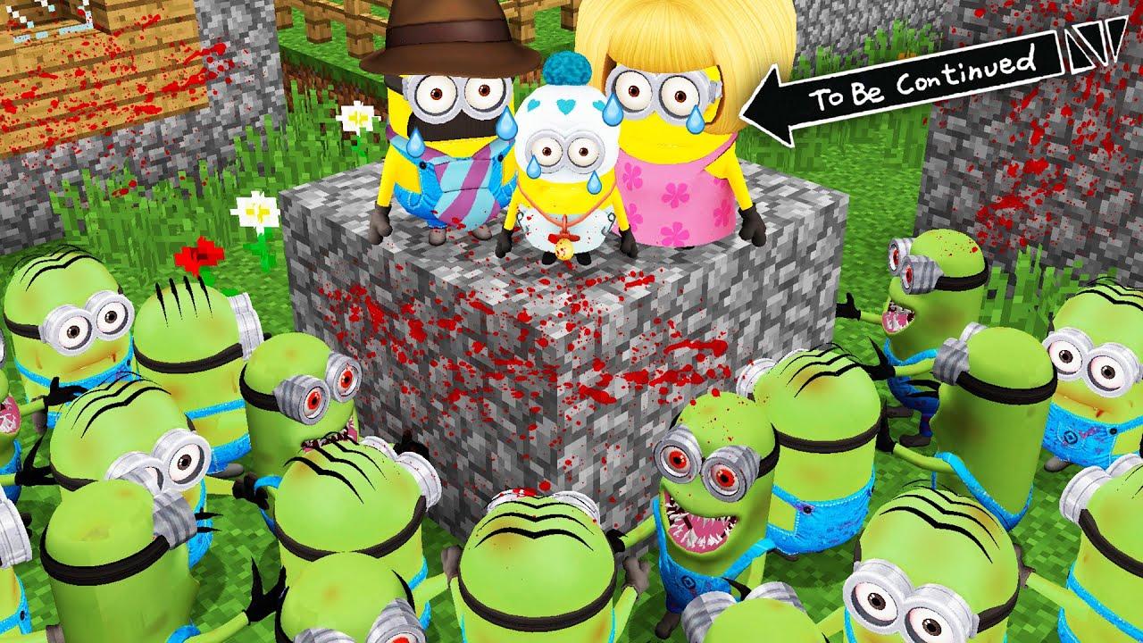 Download WHAT HAPPENED TO MINION FAMILY ZOMBIE MINION APOCALYPSE ! Scary Minion vs Minions - Gameplay