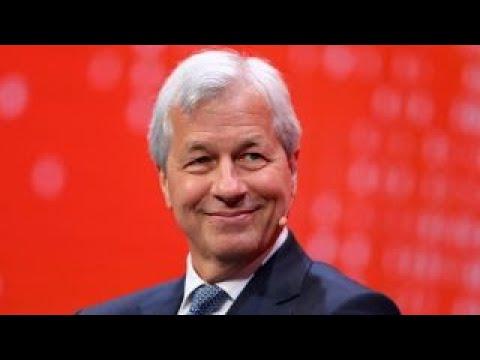 JPMorgan CEO: US economy is strengthening