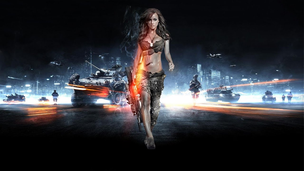 Bf3 fullhd test youtube - Battlefield screensaver ...