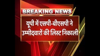 SP-BSP Alliance Release List Of Constituencies For Lok Sabha Elections | ABP News