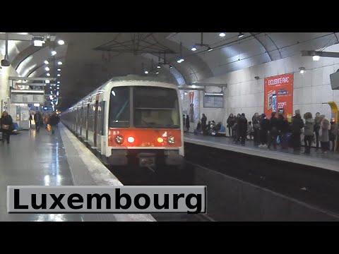Rer paris luxembourg b ratp mi79 youtube - Station metro jardin du luxembourg ...