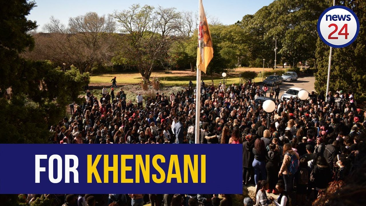 Rhodes University students mourn the death of one of their own, Khensani Maseko.