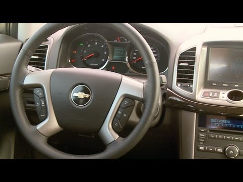 2013 Chevrolet Captiva INTERIOR