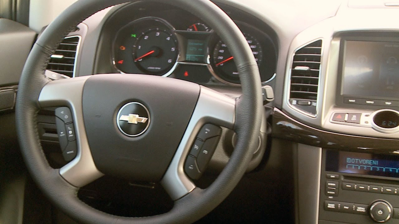 2013 chevrolet captiva interior youtube