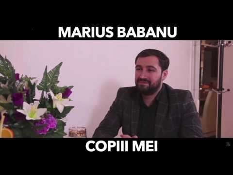 Marius Babanu - Copiii mei ( Oficial Audio Live 2017 )