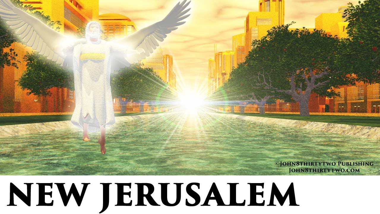 New Jerusalem Descending From Heaven Look Like Revelation 21 22 Pictures New Heaven Earth Holy City