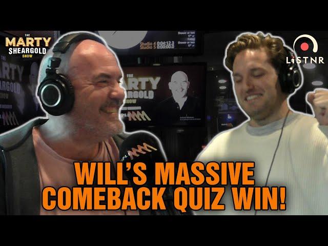 Will's Comeback Win In The Cinemasaurus Quiz! | The Marty Sheargold Show | Triple M