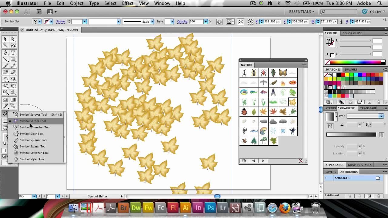 Illustrator using the symbol sprayer tool youtube illustrator using the symbol sprayer tool biocorpaavc