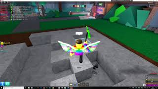 making the newtonium pickaxe in roblox azure mines