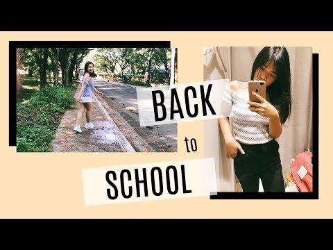 BACK TO SCHOOL Vlog! (Shopping+UPD Enrollment+First Day) || Janessa Carlos (Philippines)