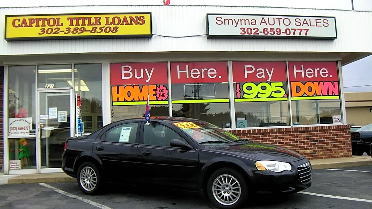 Smyrna Auto Sales >> 2006 Chrysler Sebring Smyrna Auto Sales
