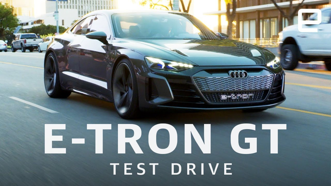 Audi E Tron Gt Test Drive Youtube
